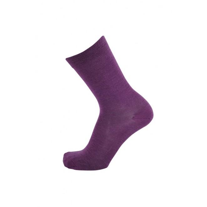 Merino wool socks Tunn plum
