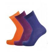Merino wool socks Tunn orange