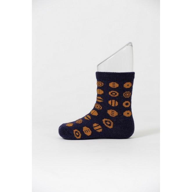 Kojenecké merino ponožky Candy navy
