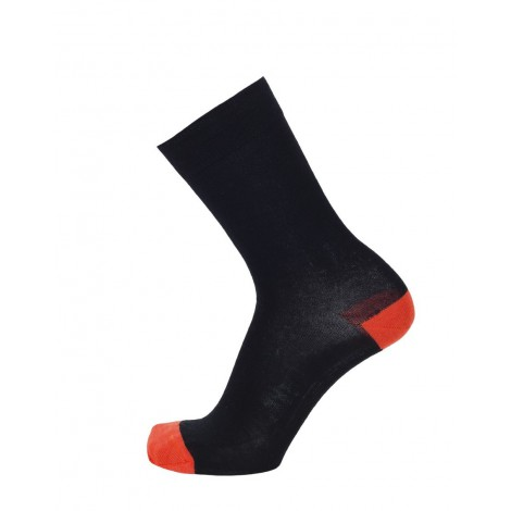 Merino wool socks TH black coral
