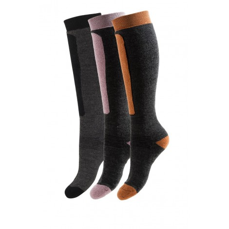 Ski woolen socks Alpin orange