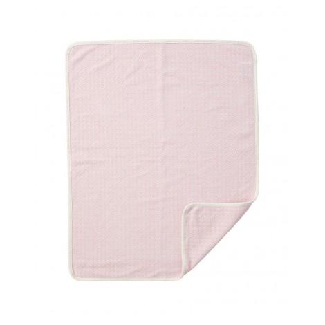 Bavlněná dětská deka chenille Rumba baby pink