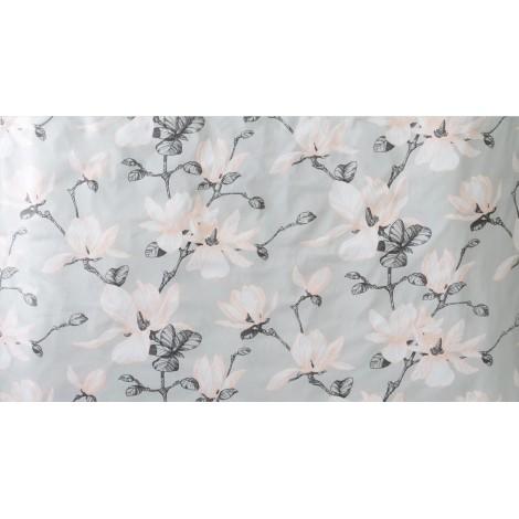 Saténové povlečení Magnolia grey