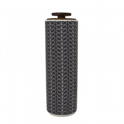 Spagetti jar Linear Stem dark grey