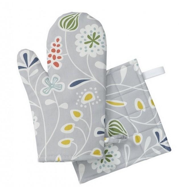 Kuchyňská chňapka rukavice Meadow grey