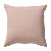 Linen cushion cover Linn rose