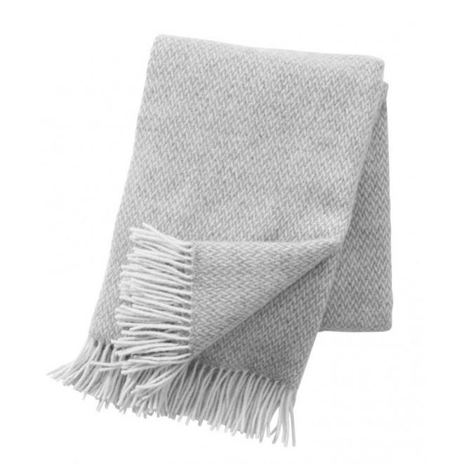 Wool throw Pulse grey