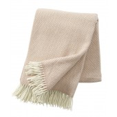 Wool throw Pulse nude