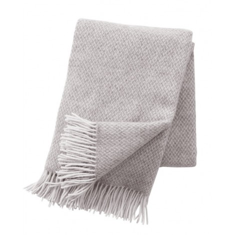 Wool throw Pulse sand