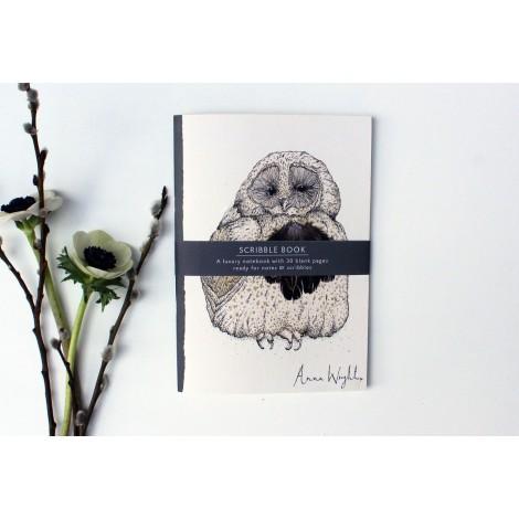 Náčrtník Owlie A5 30 listů