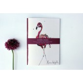 Scribblebook Flamingo