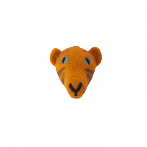 Felted head Tiger