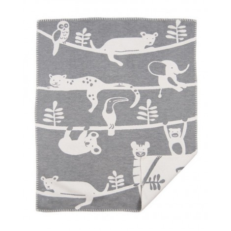 Dětská deka Siesta grey