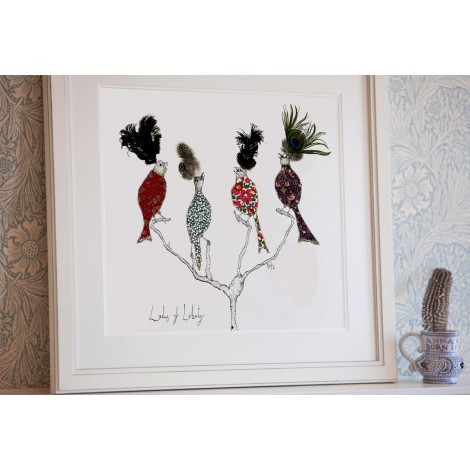 Art print AW Ladies of Liberty