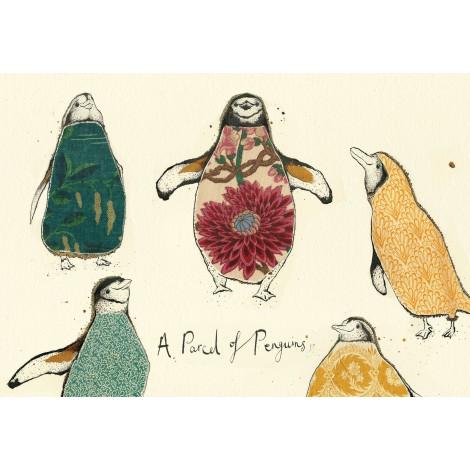 Obraz AW Parcel of Penguines