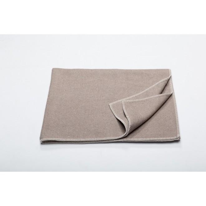 Bavlněná deka Sylt mud