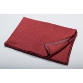 Cotton blanket  LIDO tibet red