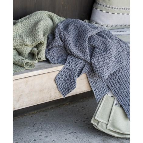 Bavlněná deka VIGO blue grey