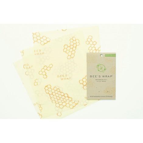 Potravinové ubrousky Bee's Wrap Medium střední 3-pack