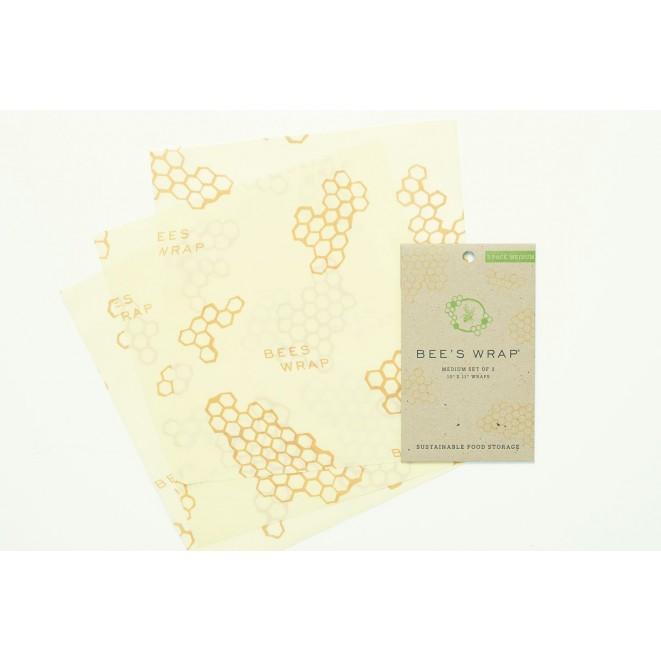 Potravinové ubrousky Bee's Wrap střední 3-pack