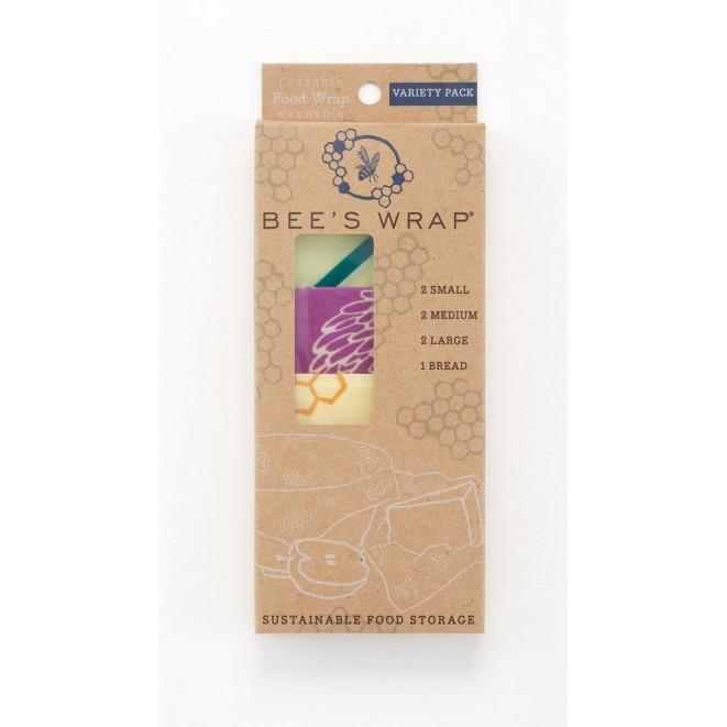 Potravinové ubrousky Bee's Wrap Variety 7-pack