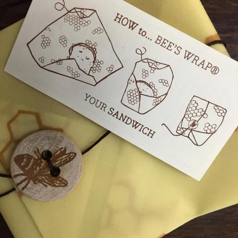 Voskované ubrousky Bee's Wrap Sandwich