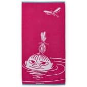 Bath towel Little My pink 70 x 140