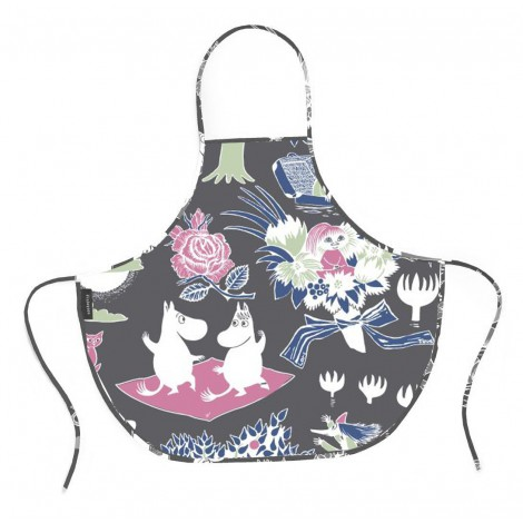 Kids apron Moomin blue