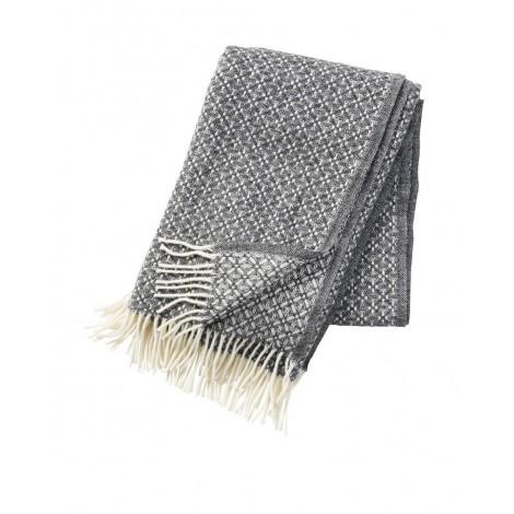 Wool throw Dahlia grey