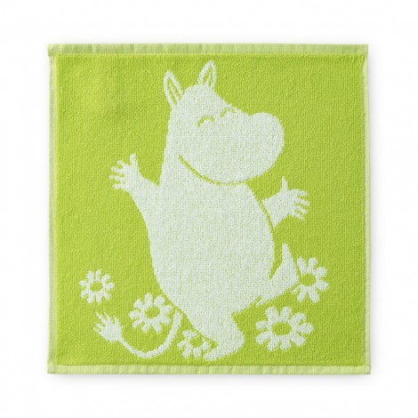 Hand towel Moomin Friend Lime 30 x 30