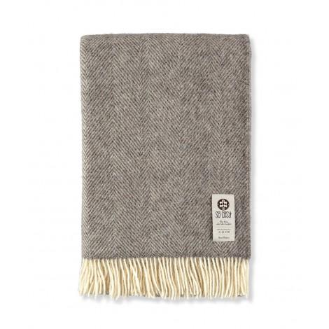 Bedspread Dara dark grey 140x240