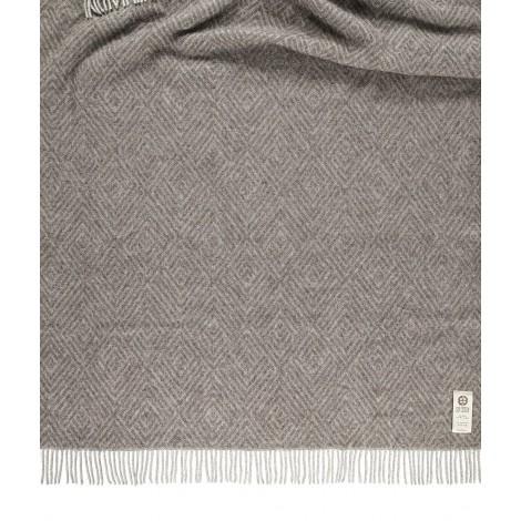 Vlněný přehoz na postel Darcy taupe 140 x 240