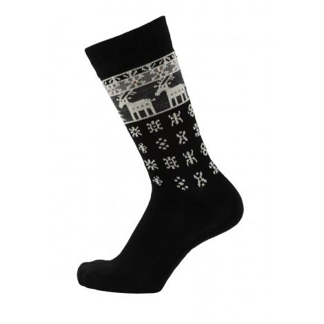 Ponožky merino Deer black