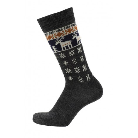 Merino socks Deer antracite