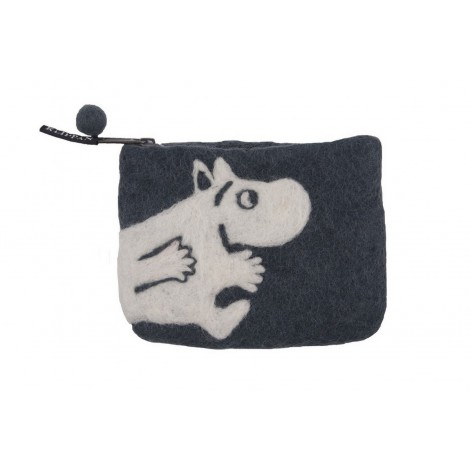 Purse Moomin grey