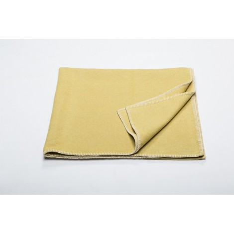 Cotton blanket SYLT mustard