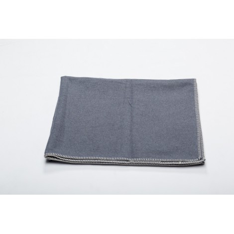 Cotton blanket SYLT grey