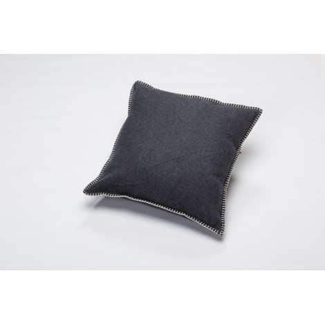 Cotton cushion SYLT charcoal