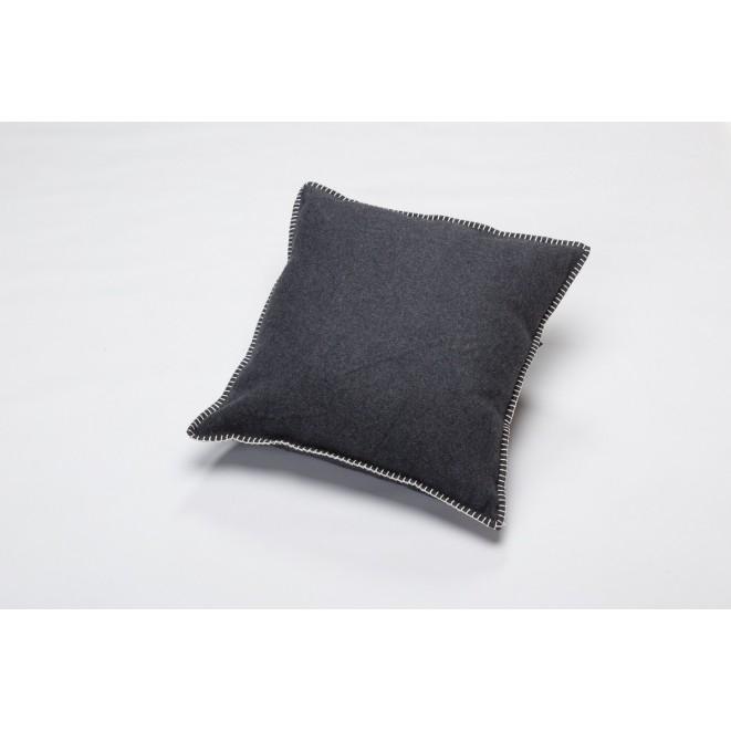 Dekorační polštář SYLT charcoal tmavě šedý