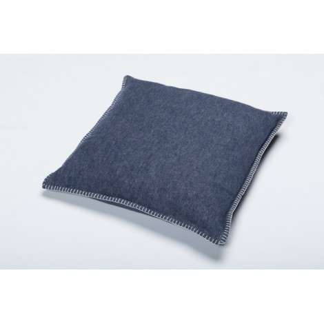 Cotton cushion SYLT blue