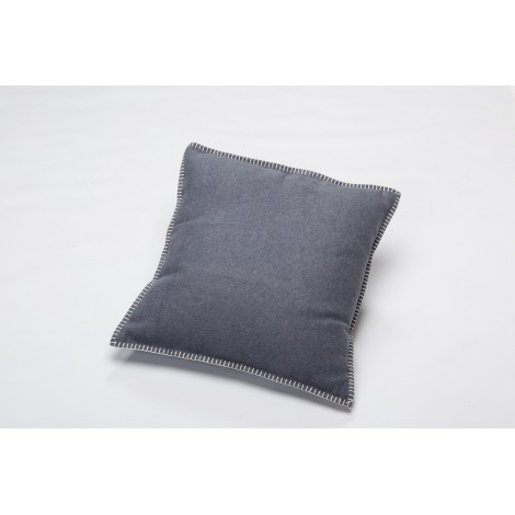 Cotton cushion SYLT grey