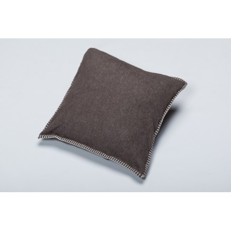 Cotton cushion SYLT brown