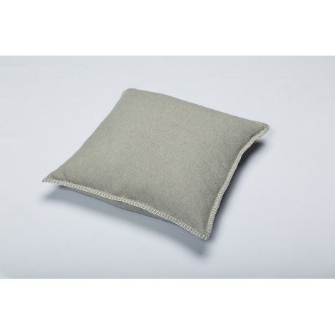 Cotton cushion SYLT sage