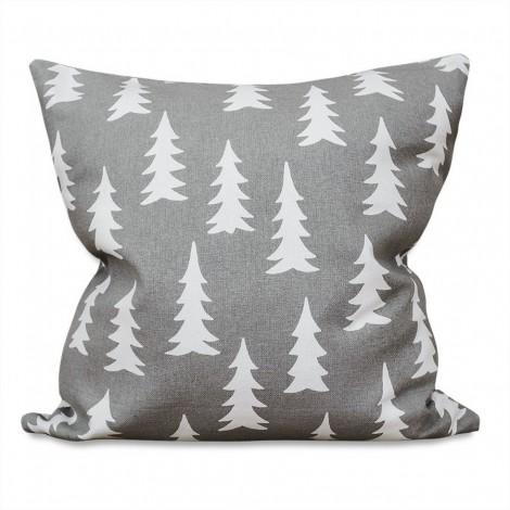 Cushion cover GRAN grey 50x50