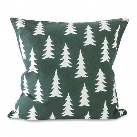 Povlak na polštář GRAN forest green 50x50