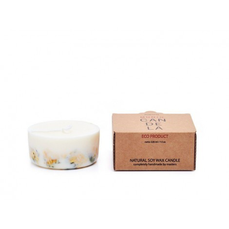 Candle Naturella Marigold flowers 220ml
