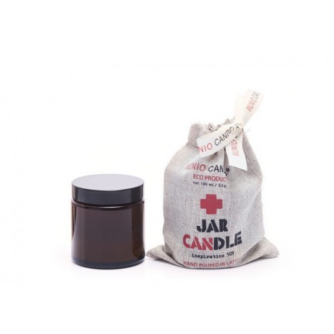 Brown Jar Candle Inspiration patchouli 100ml