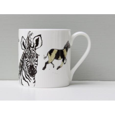 Porcelain mug Hot To Trot