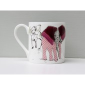 Porcelánový hrnek A Herd of Elephants