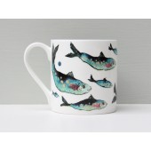 Porcelain mug Fishy Friends